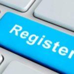 Регистрация на тренинг по созданию сайта